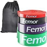 femor Resistance Bands set van 4-Full body fitness elastieken-Powerbands-Weerstandsbanden voor benen en billen…