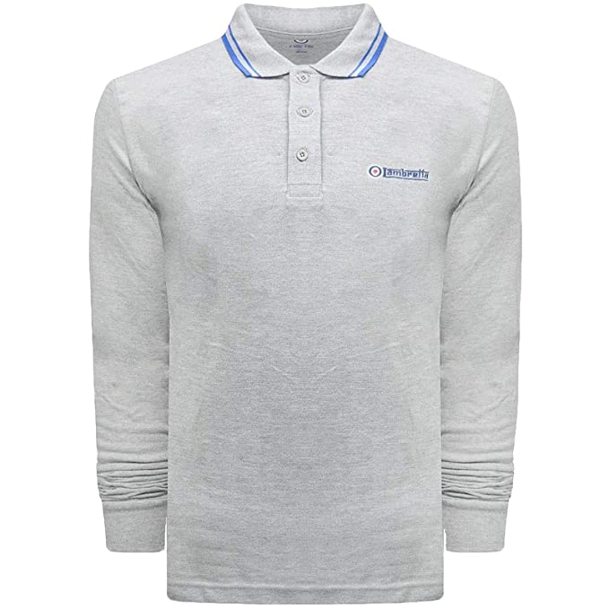 Lambretta Camiseta de Manga Larga - para Hombre: Amazon.es: Ropa y ...