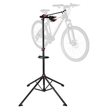 seleccione para mejor valor fabuloso fina artesanía Ultrasport Caballete para bicicleta Expert, robusto caballete para  bicicleta, también para bicicletas de montaña, caballete para la reparación  de ...