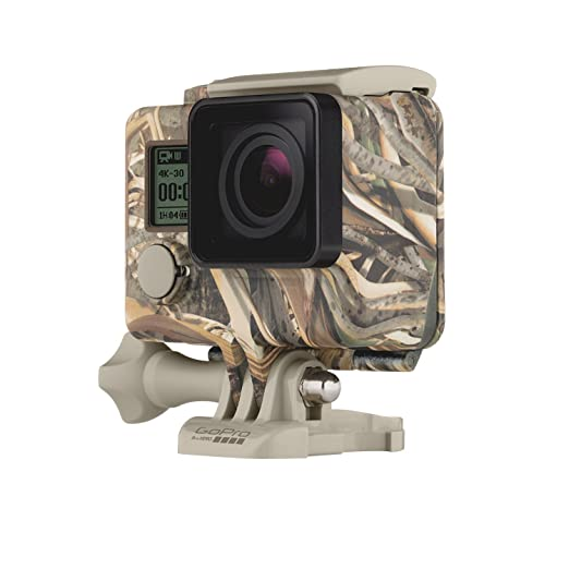 GoPro Camo Housing + QuickClip (Realtree MAX-5) (GoPro Official Accessory)