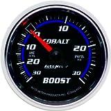 Auto Meter 6103 Cobalt Mechanical Boost / Vacuum Gauge, 2.3125 in.