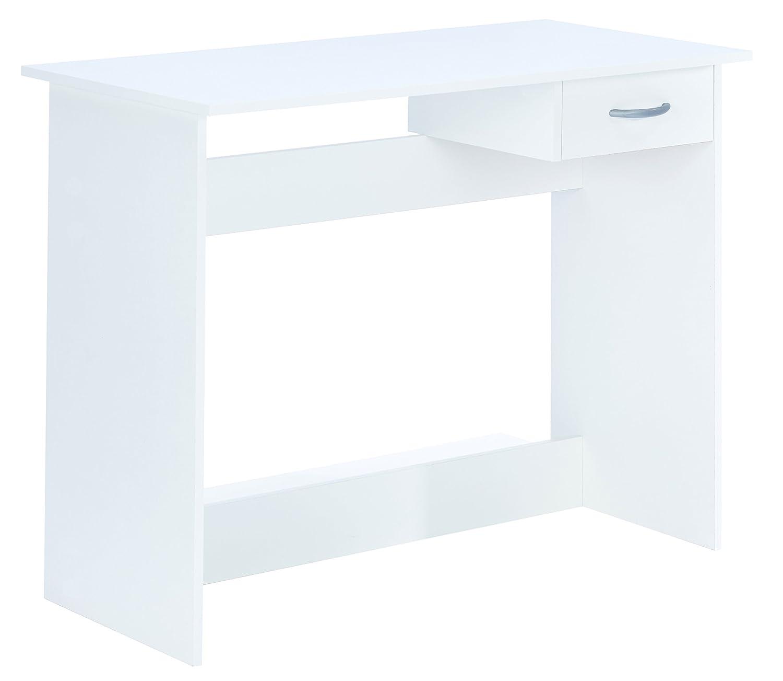 Links - Practice 4 scrivania. Dim. 100, 6x50, 1x76, 5h cm. Truciolare. Bianco. 13casa 828 F00361901031_BIANCO