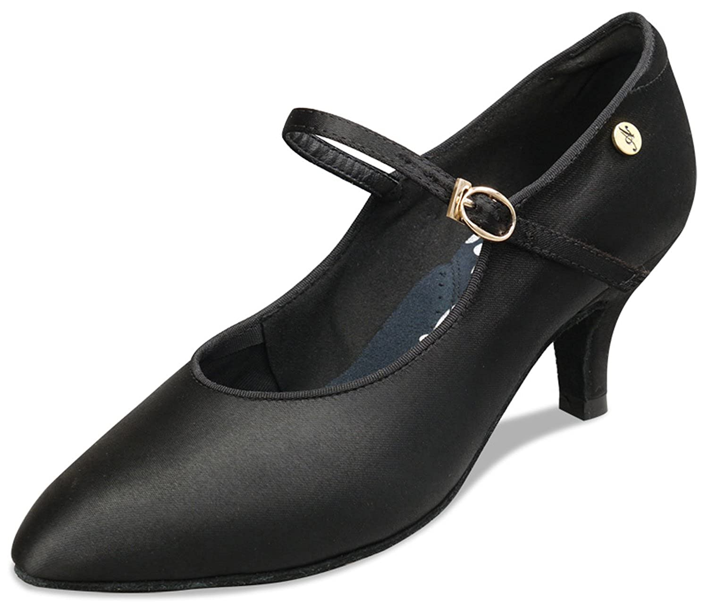 [Aplus Dance Shoes] レディース B07N4NQ834 ブラック 8 M US