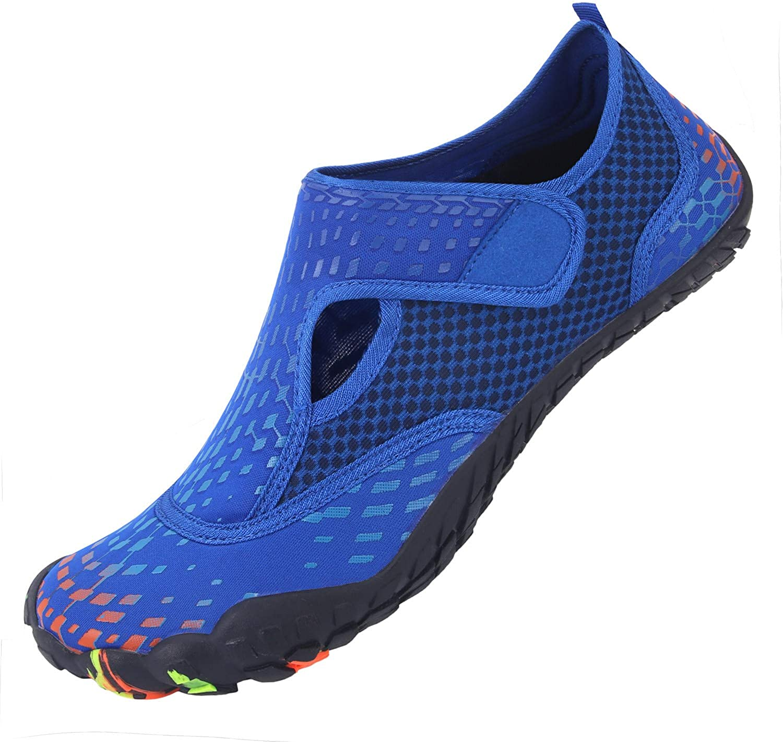 | L-RUN Athletic Hiking Water Shoes Mens Womens Barefoot Aqua Swim Walking Shoes | Hiking Shoes