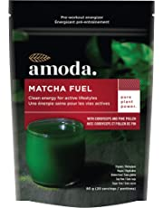 MATCHA + MACA + CORDYCEPS + PINE POLLEN + ELEUTHRO - An all natural organic pre-workout and energy blend MATCHA FUEL by AMODA. A powerful blend of adaptogenic mushrooms and superherbs to boost energy, focus and stamina. A superior blend to help bolster mental clarity, manage stress and balance your body naturally. Vegan, gluten-free and no sugar. 80g/20 servings.
