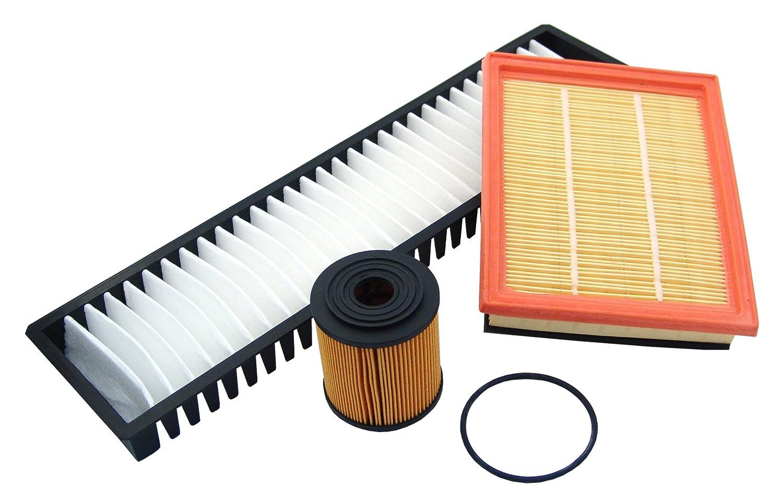 MAPCO 68900 Filtersatz - Ã – lfilter/Luftfilter/Pollenfilter