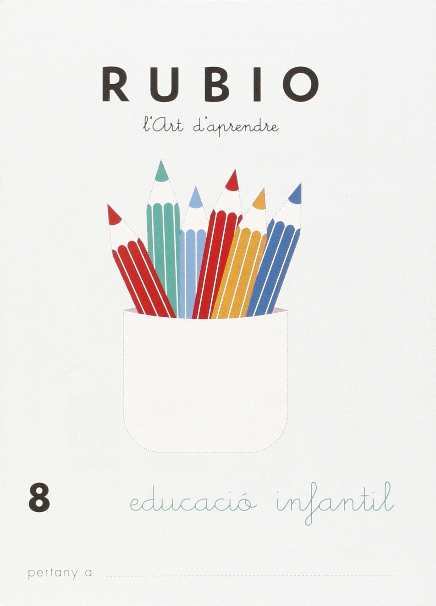 Rubio. Preescritura. EI 8: Amazon.es: Enrique Rubio Polo: Libros