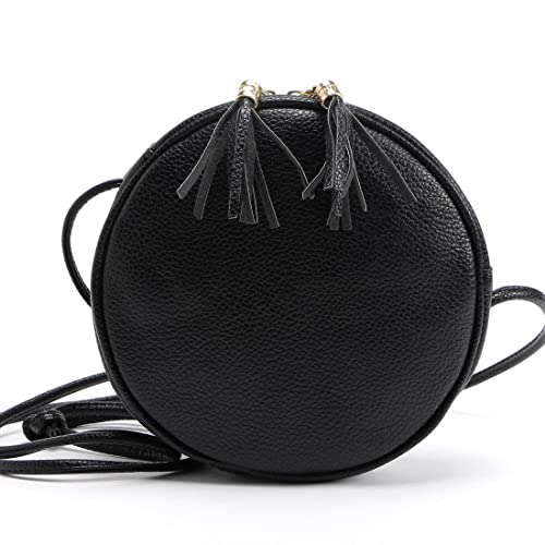 bcc05ab0c5 DukeTea Small Circular Crossbody Purse for Teen Girls