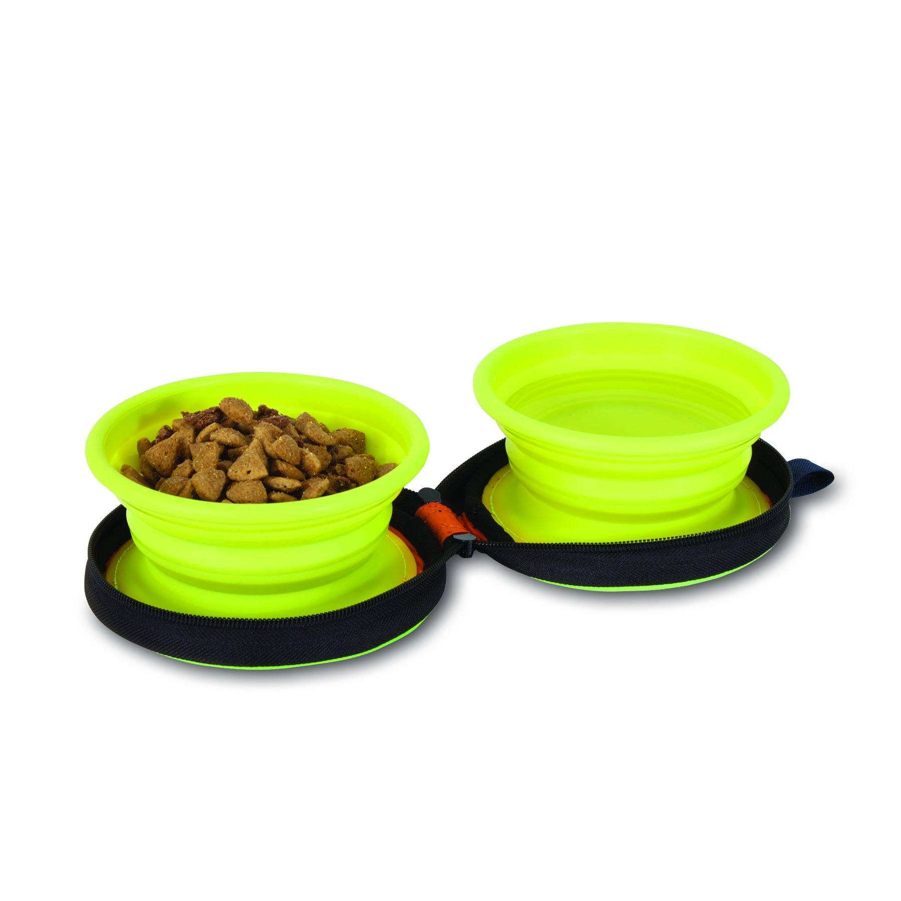 Petmate 3-Cup Silicone Duo Travel Bowl by Petmate (Image #4)