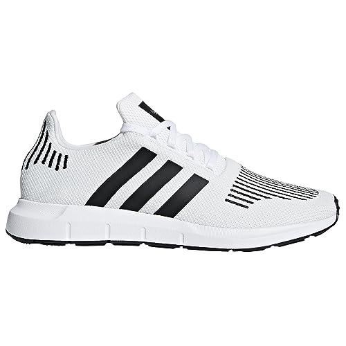 sports shoes 18771 9456c Adidas Swift Run CQ2116, CQ2114. Blanco y Negro. Zapatillas de Running Para  Hombre