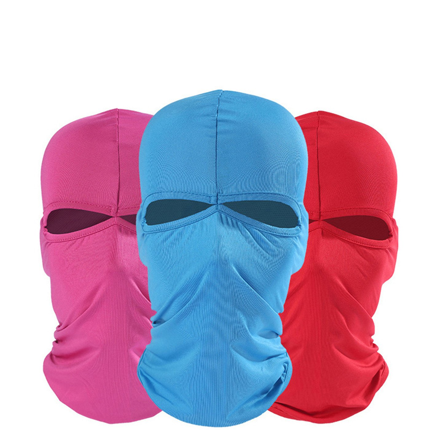 Balaclava - Windproof Mask Adjustable Face Head Warmer for Skiing, Cycling, Motorcycle Outdoor Sports 3Pack 1