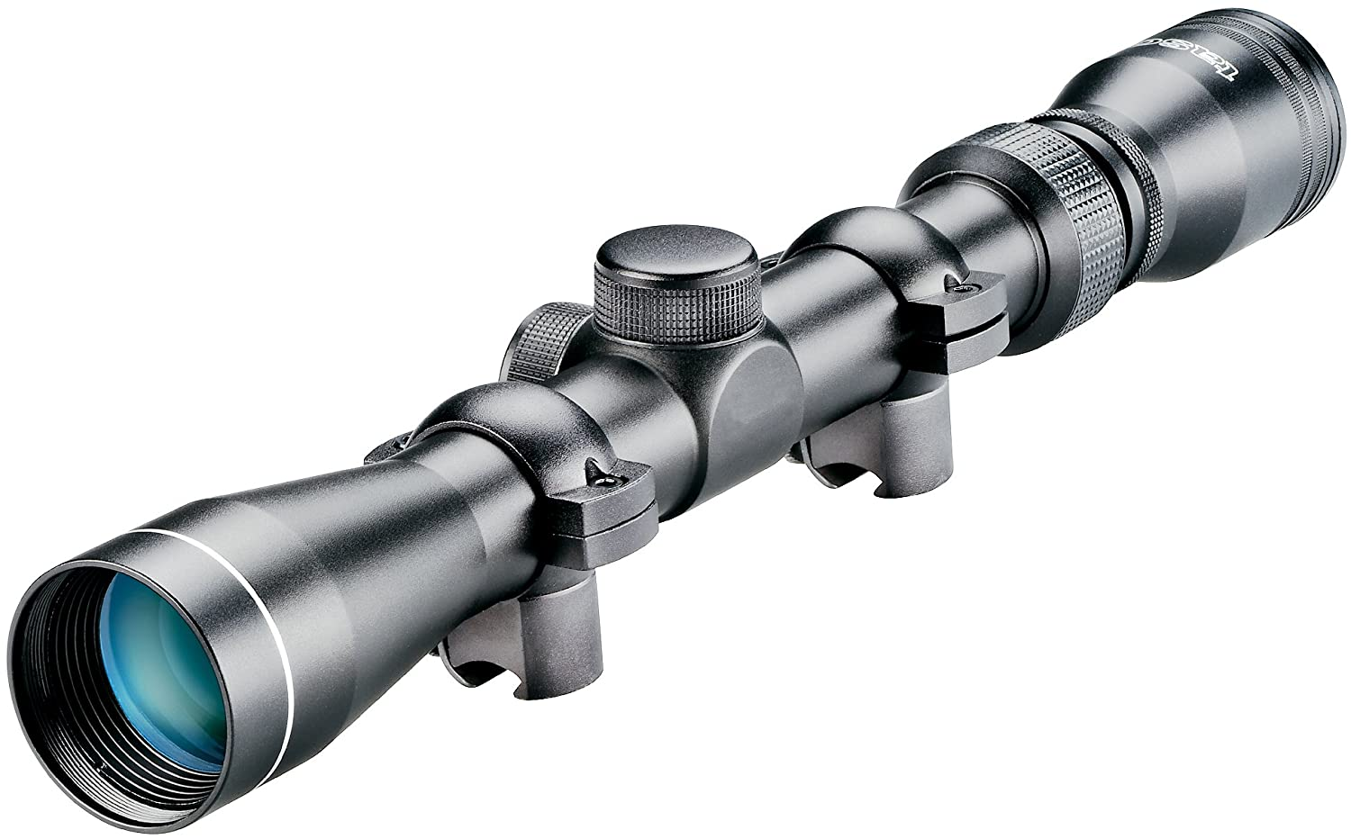 3. TASCO MAG39X32D Rimfire Series 3-9x 32mm 30/30 Reticle .22 Riflescope (Matte Finish)