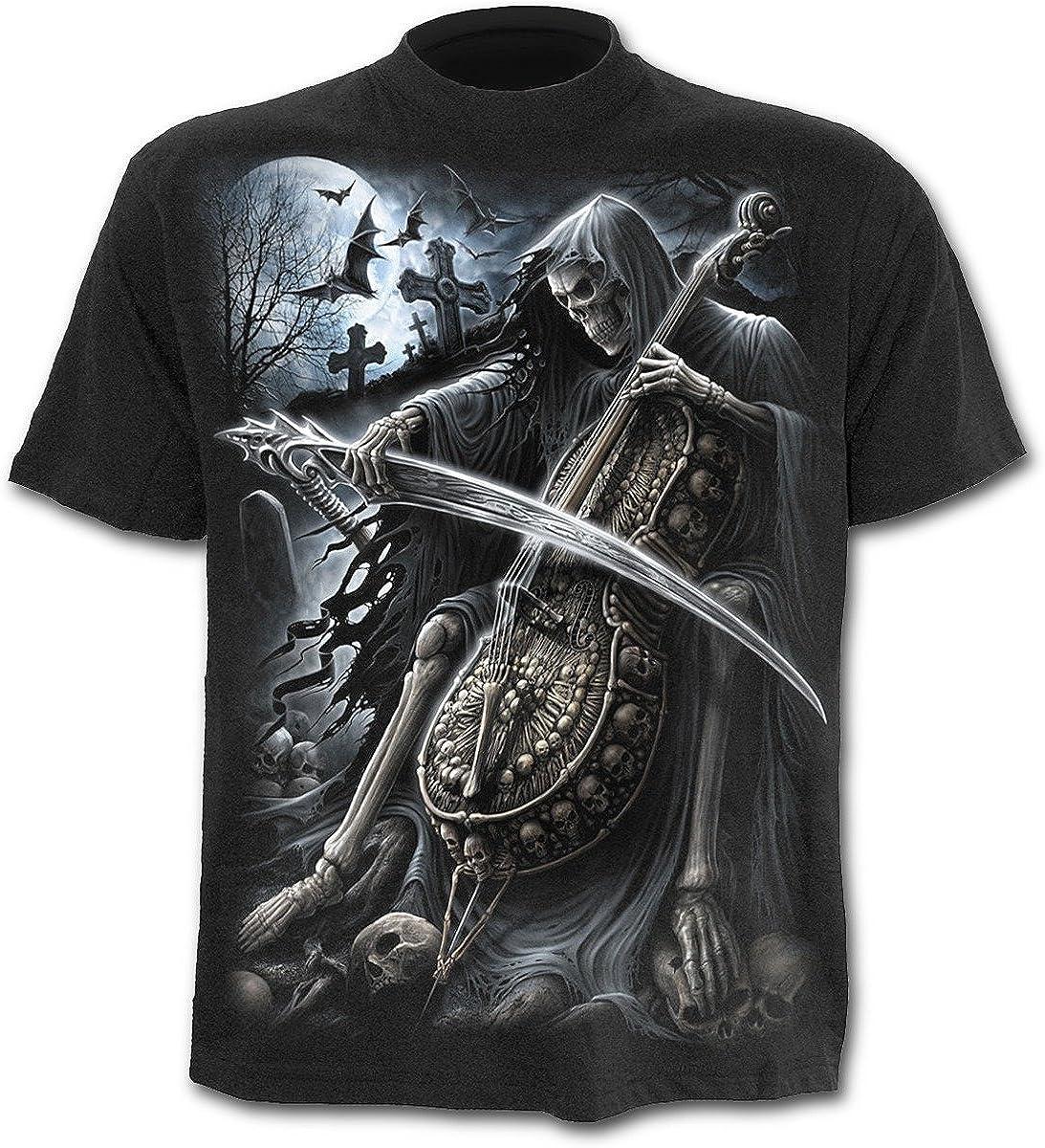 SPIRAL T-Shirt Mec Spiral DARK WEAR Noir Symphony Of Death
