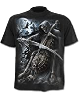 SPIRAL - T-Shirt Mec Spiral DARK WEAR - Symphony Of Death - Noir