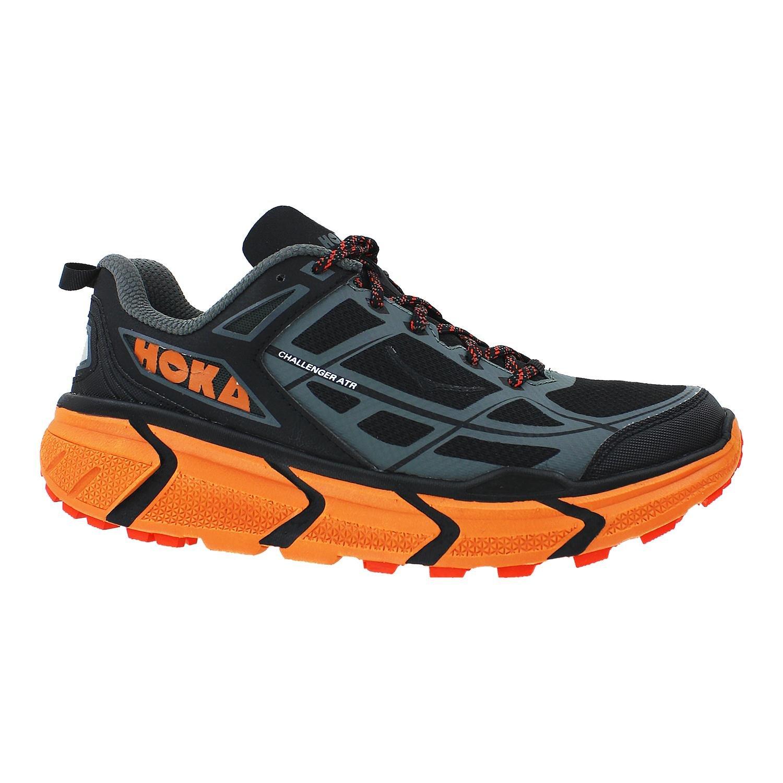 Hoka One One Challenger ATR Running Shoe - Men's Black/Burnt Orange 10