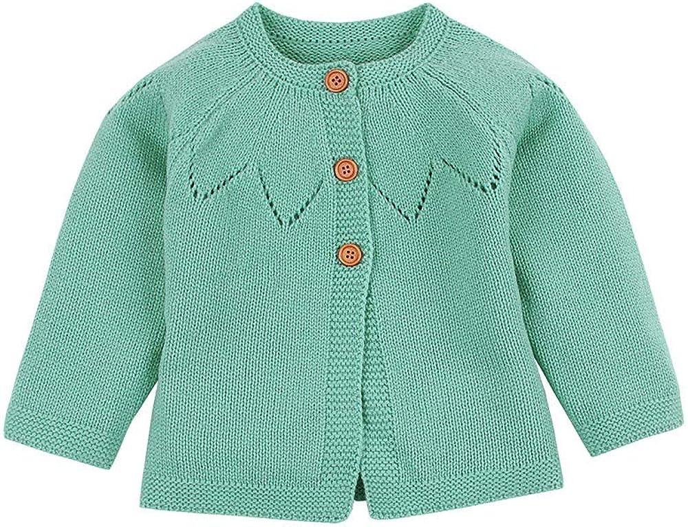 Toddler Baby Boys Girls Sweaters Winter Pollyhb New Baby Soft Warm Cardigan Coat