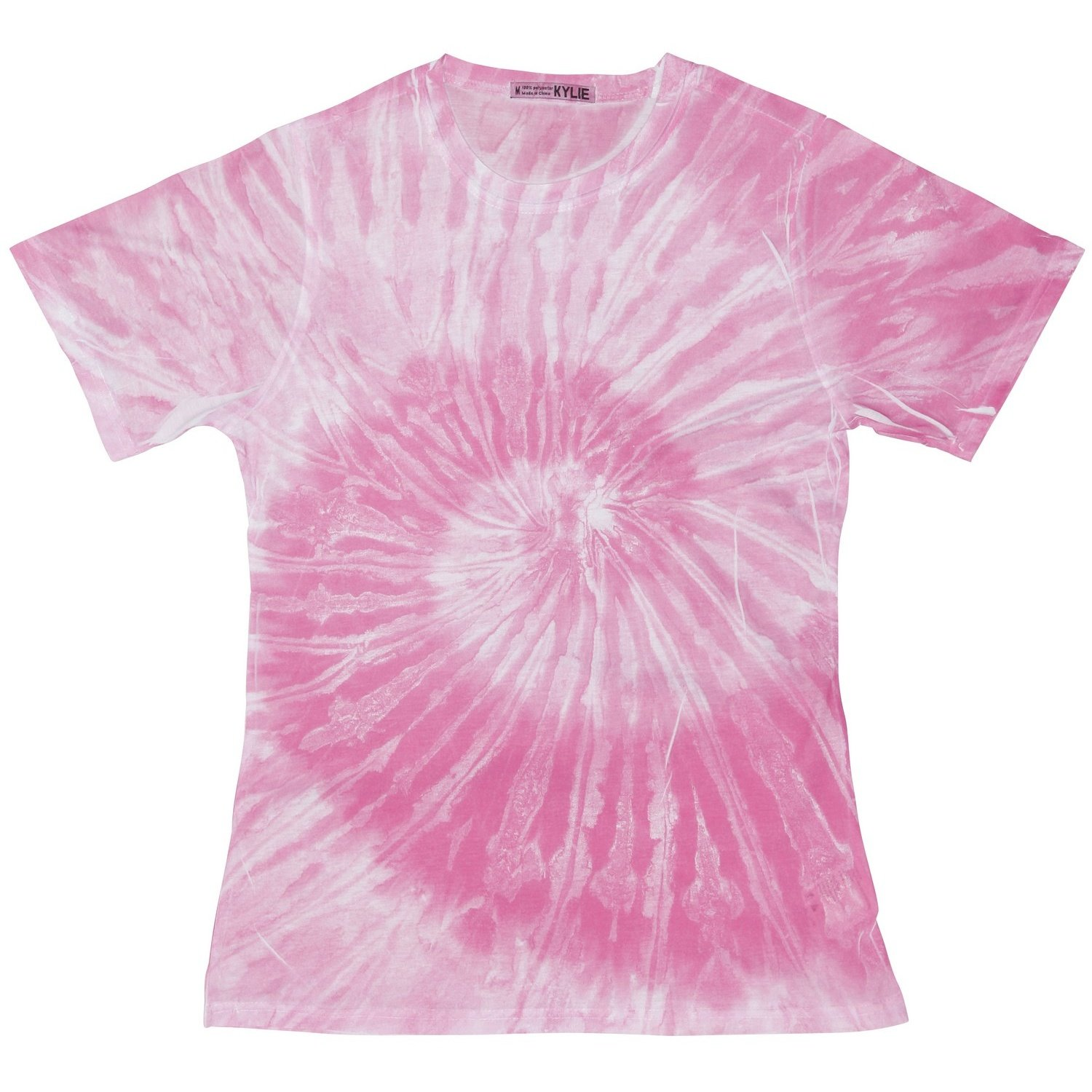 Perfekt Amazon.com: Colortone Womens/Ladies Short Sleeve Spider Tie Dye T  Shirt