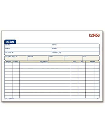 sales forms invoice forms amazon com office school supplies