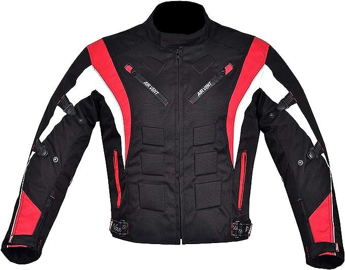Winddichte Textiljacke Herren Motorrad Textiljacke mit CE Rüstung