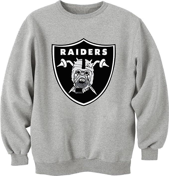 Raiders-Star Wars camiseta Unisex Crewneck-Sudadera gris XL: Amazon.es: Ropa y accesorios