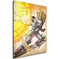 Poster Dragon Ball Wanted Bardak SSJ - Formato A3 (42x30 cm)