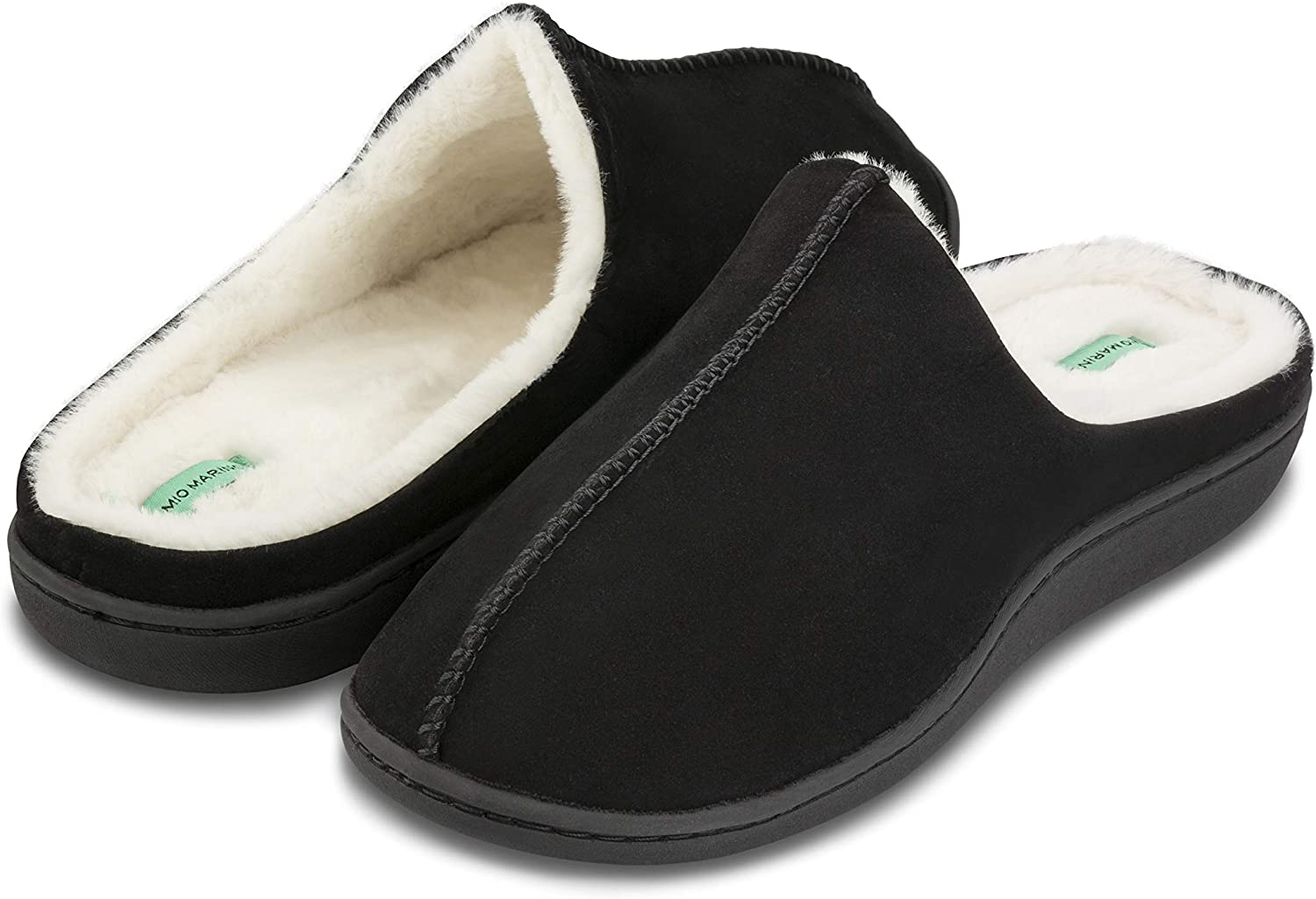 House Slippers for Men Memory Foam Mio Marino Mens Slippers