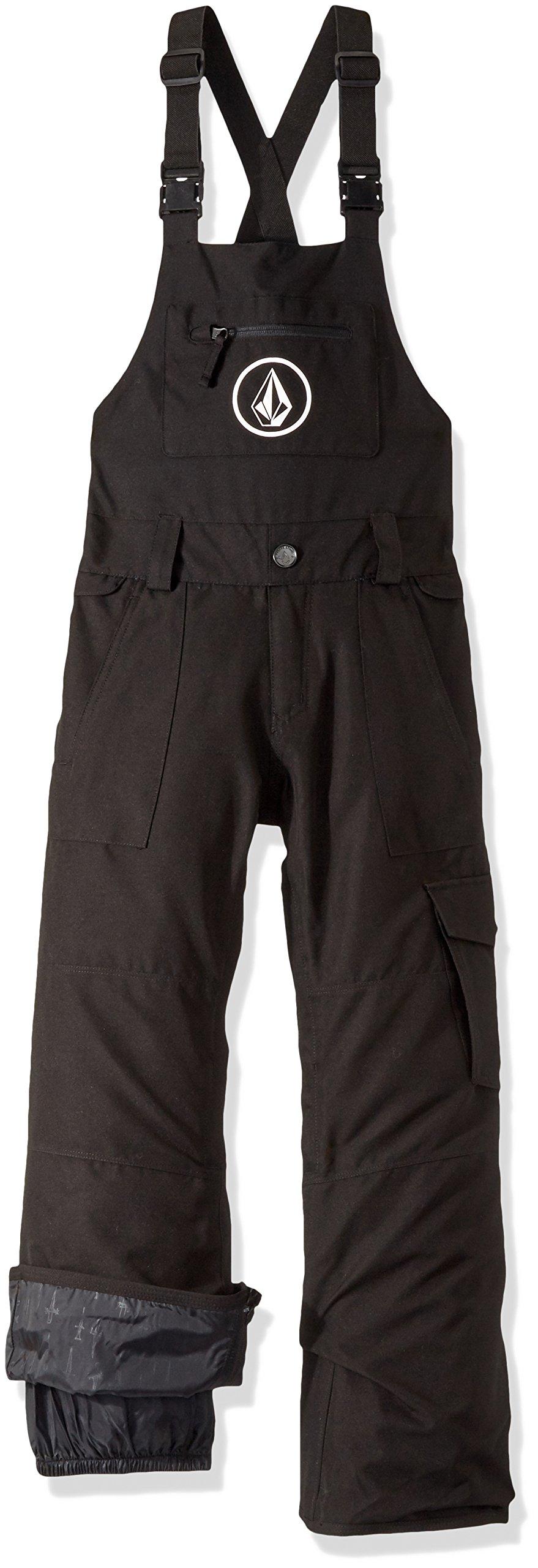Volcom Big Boys' Sutton Insulated Overall, Black, L by Volcom