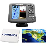 Lowrance Hook-5 Coastal Nautic Insight Sonar/GPS Mid/High/Downscan Fishfinder