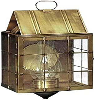 product image for Brass Traditions 311 SHAB Large Wall Lantern 300 Series, Antique Brass Finish 300 Series Wall Lantern