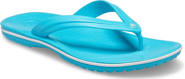 Crocs Men's and Women's Crocband Flip Flop | Slip On Sandals | Shower Shoes