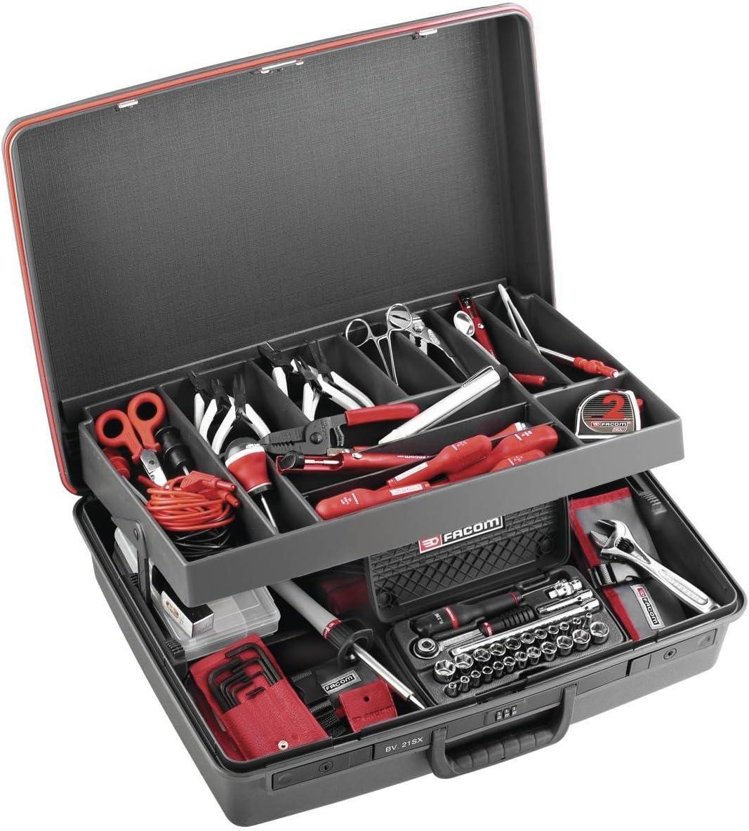 Facom 2138.EL35 - COMPOSICION ELECTRO.148 OUTILS+BV.21: Amazon.es: Bricolaje y herramientas