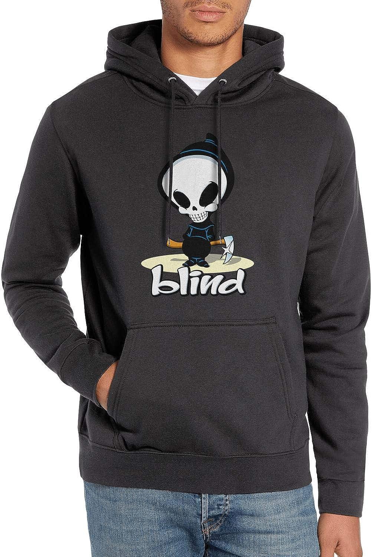 Men Fashion Hoodie Blind-Skateboards-Logo 3D Print Pullover Hoodie Cool Skaters Hoodie Sport Sweatshirt Street Style Top