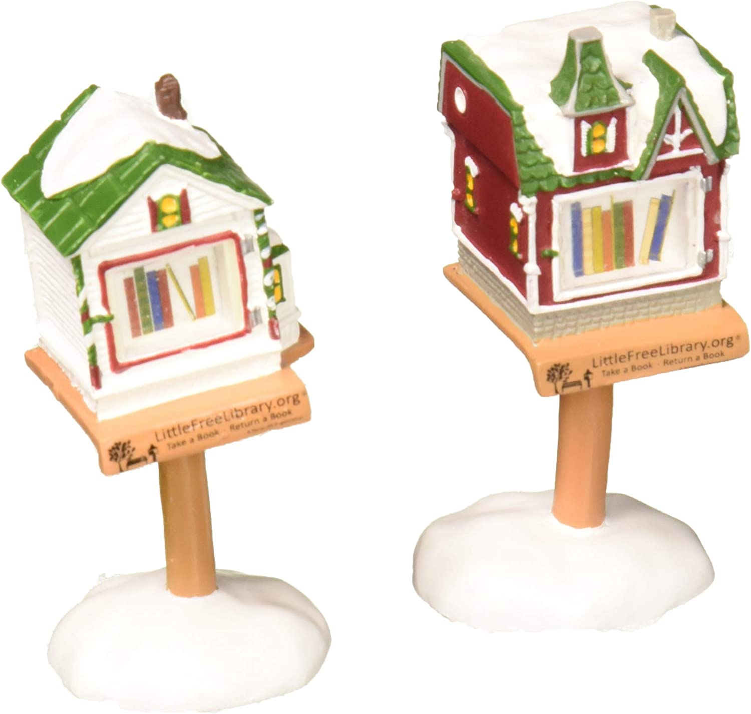Dept 56 Snow Village Set of 2 What A Great Find