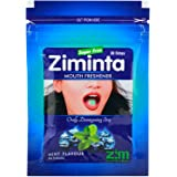 Ziminta Sugar Free Mint Mouth Freshener Easily Soluble Digestive Dispensable Strip - 30 Strips (Mint Flavour, Blue)