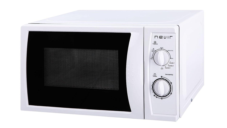 Nevir NVR-6023 MG Encimera 20L 700W Color blanco - Microondas ...