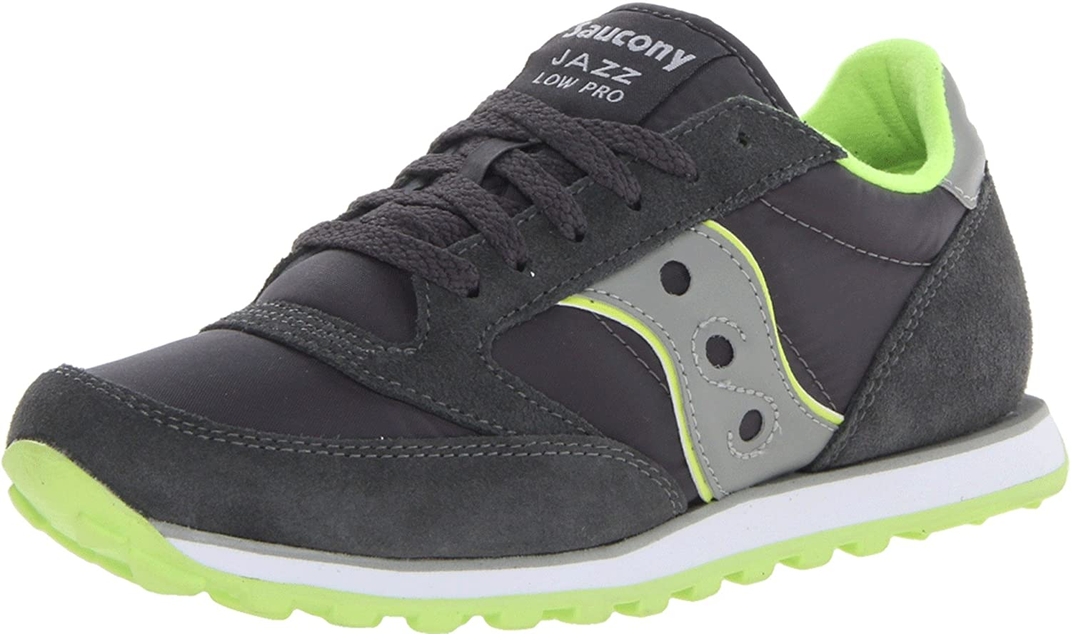 aae40c0b Saucony Men's Jazz Low Pro Shoes - Charcoal/Light Grey ...