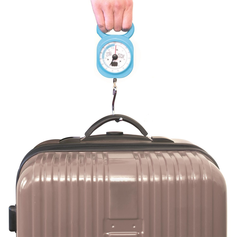 Bleu Jet Lag P/èse-bagage m/écanique