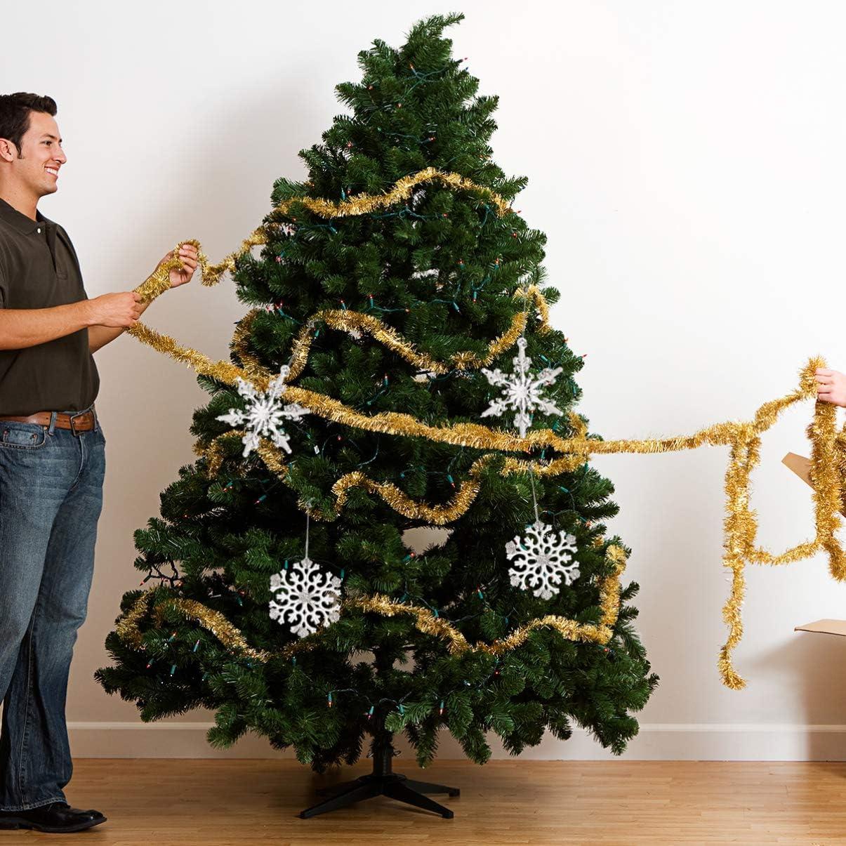 decorazione fai da te per feste fatto a mano Ciondolo a forma di albero di Natale