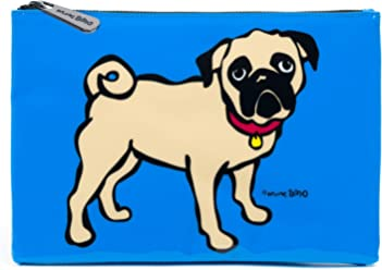Marc Tetro Pug Cosmetic Pouch