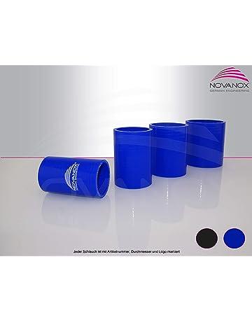 Silicona Recto Conector 80 mm de diámetro Azul Tubo de Silicona Turbo Manguera de Agua fría