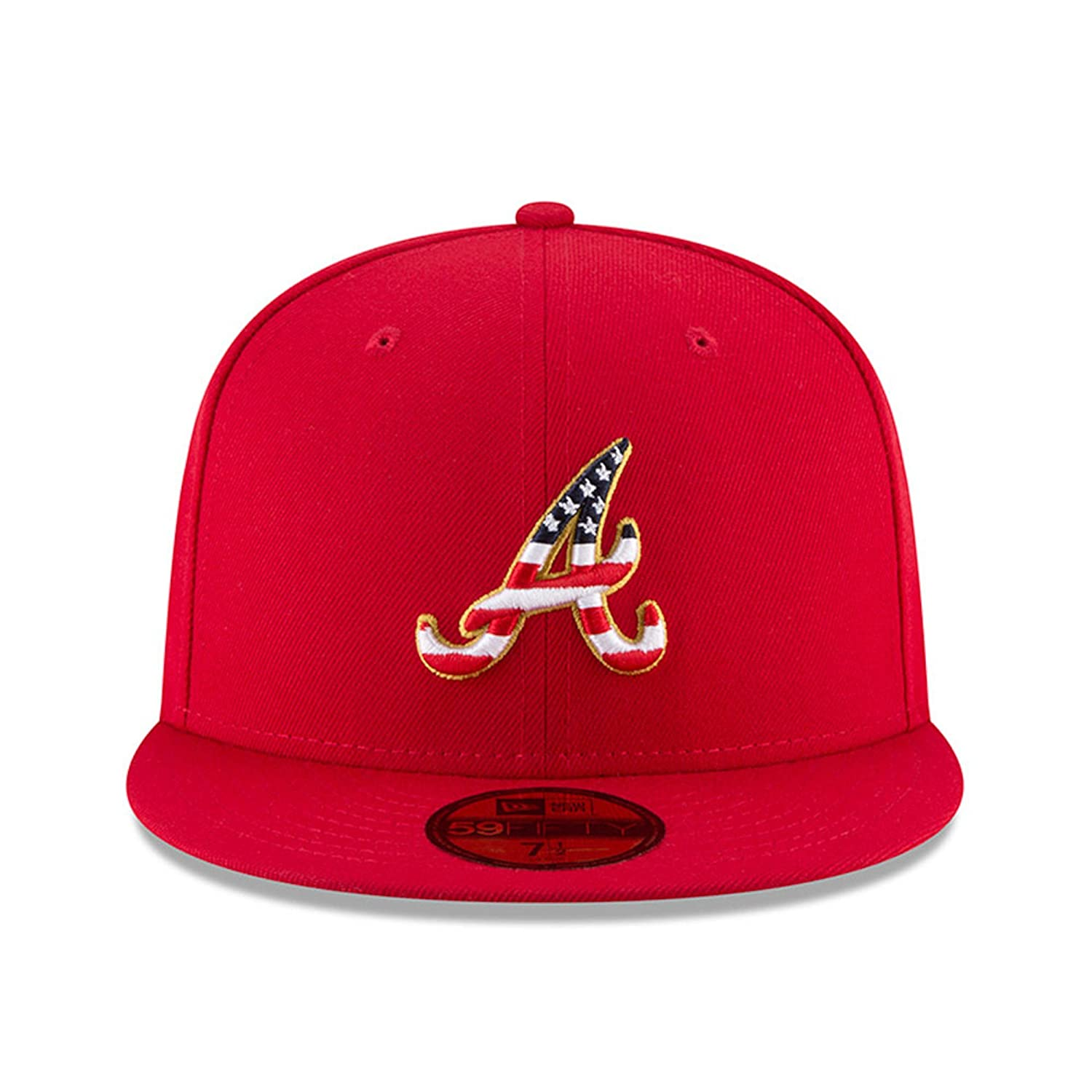 New Era Atlanta Braves 2018 Stars   Stripes 4th of July 59Fifty Hat at  Amazon Men s Clothing store  b2c01e0b68e