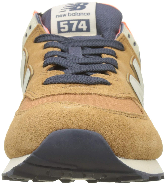 New Balance Herren Ml574E / Sneaker, Braun / Ml574E Orange 57f597