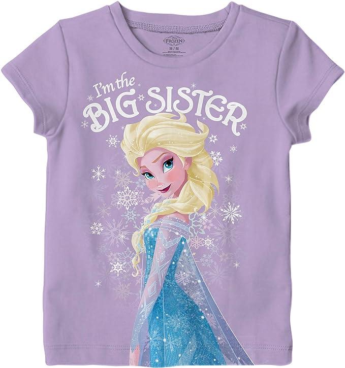 big sister little sister outfit big sister Elsa little sister Anna shirts Big sister little sister frozen fever matching set
