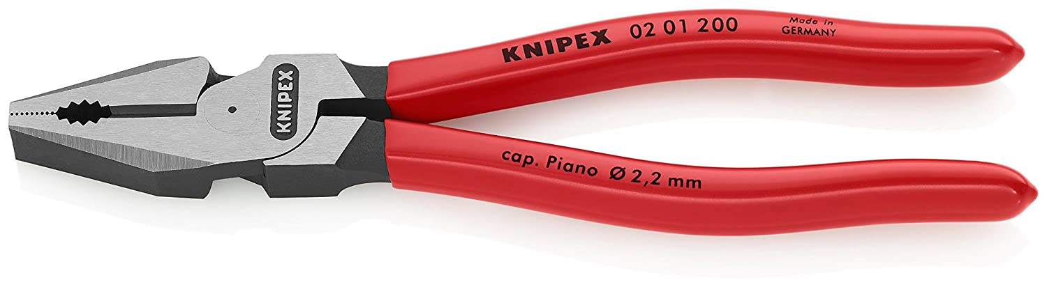 Pince universelle à forte démultiplication 200mm Knipex 02 01 200-Pince