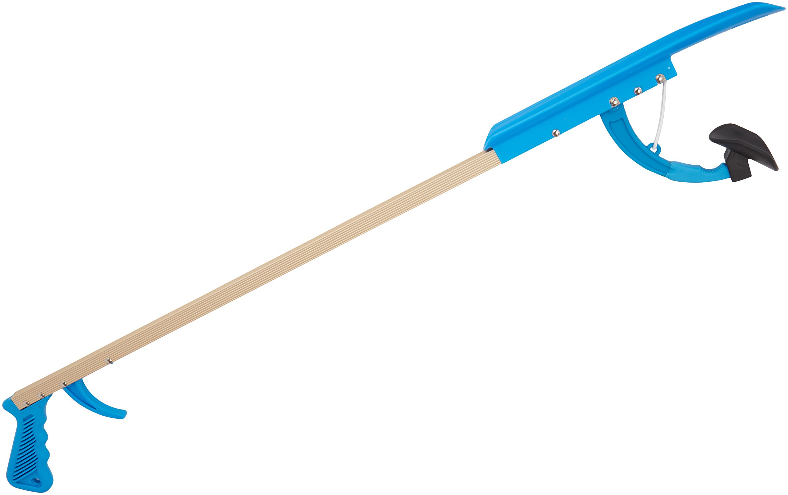 Sammons Preston 32'' Shoe Horn Reacher, Lightweight Extended Reacher Grabber for Picking Up Objects, Reaching & Grabbing Tool for Elderly & Limited Mobility, Shoehorn for Putting on Shoes