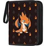 POKONBOY 9-Pocket Baseball Trading Card Binder with Sleeves, Carrying Case Card Holder Set for Game Cards, Holds Up to 720 Ca