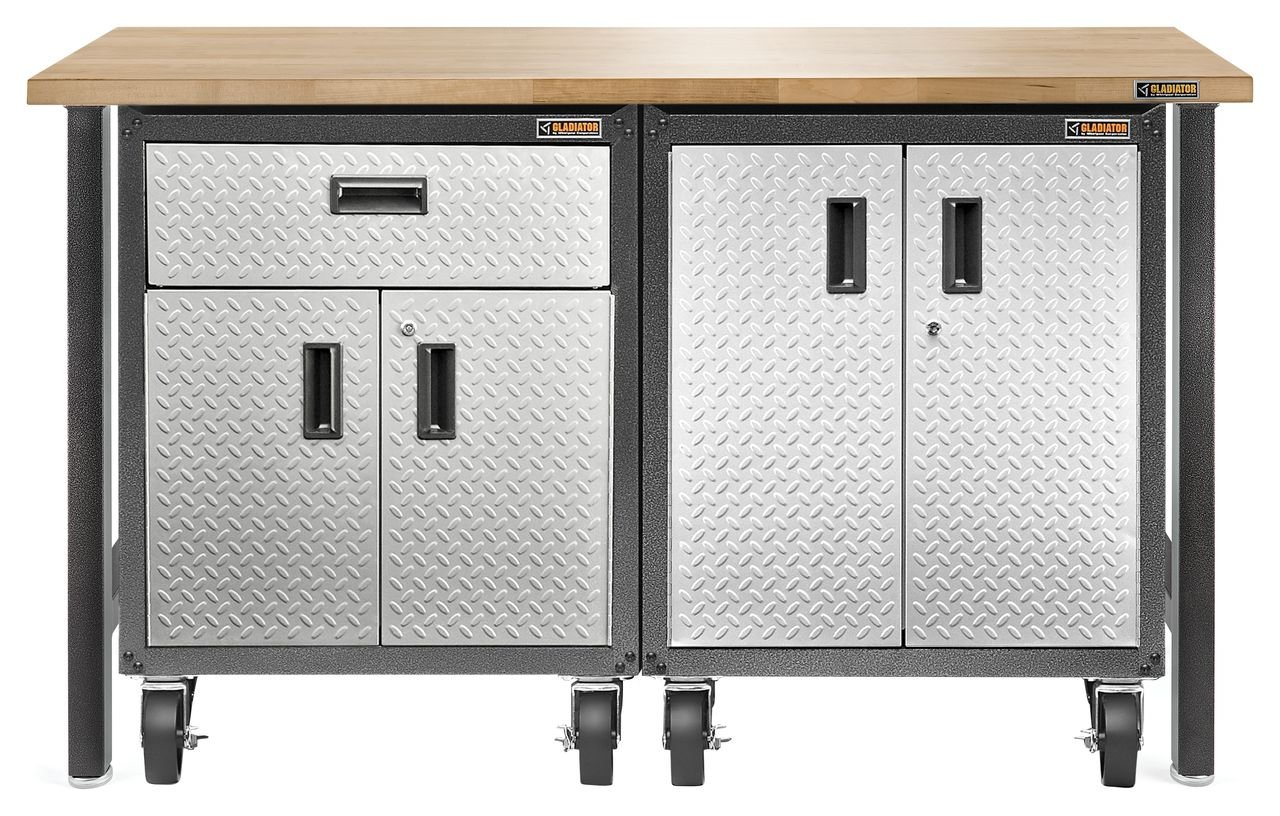Amazon.com: Gladiator GAGB28FDYG Full-Door Modular Gearbox Steel Cabinet:  Home Improvement
