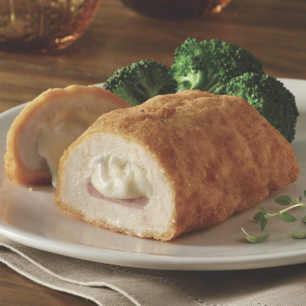 Chicken Breast Cordon Bleu, 4 Pieces from The Swiss Colony