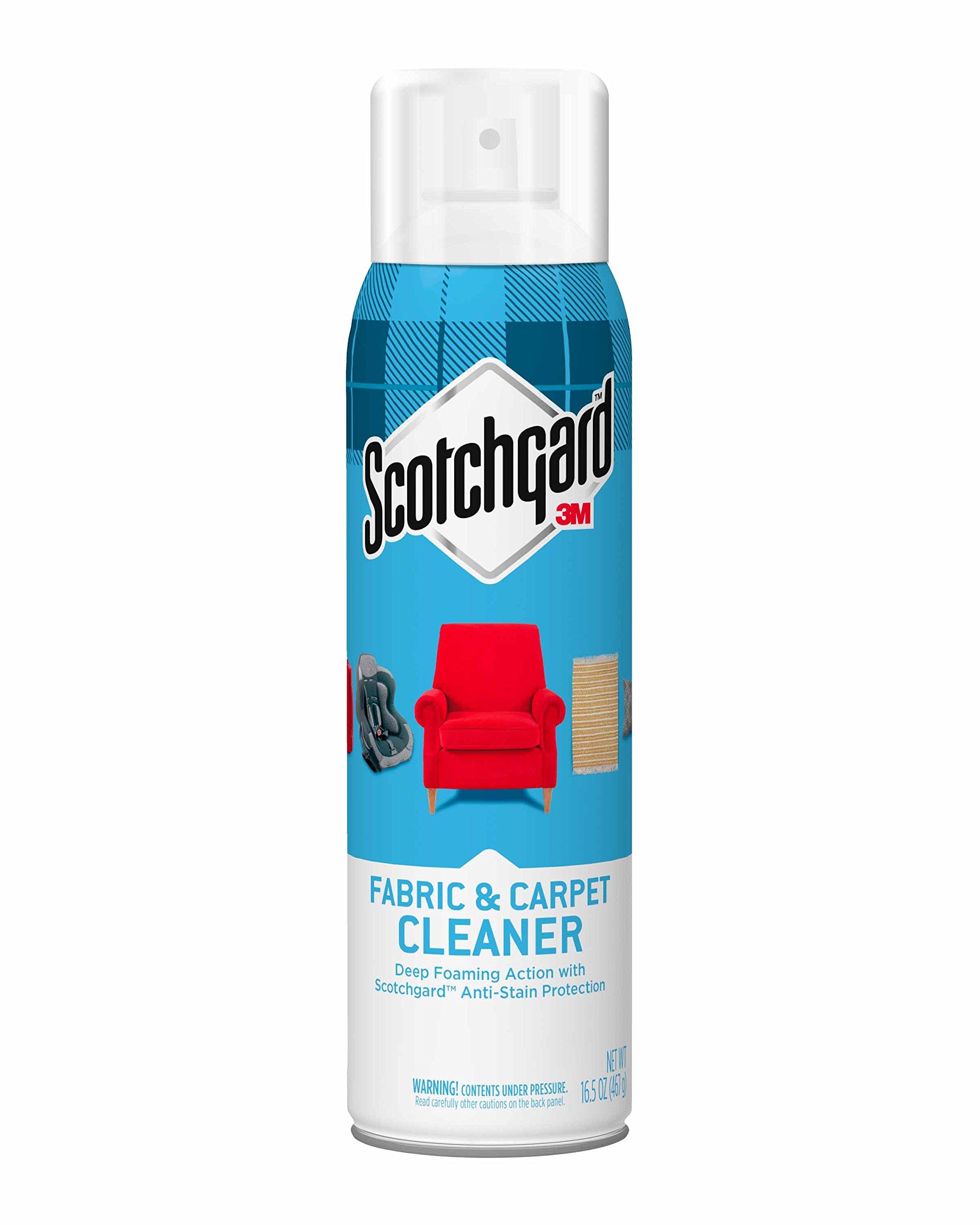 Scotchgard Fabric Carpet Cleaner 1 Can 165 Ounce