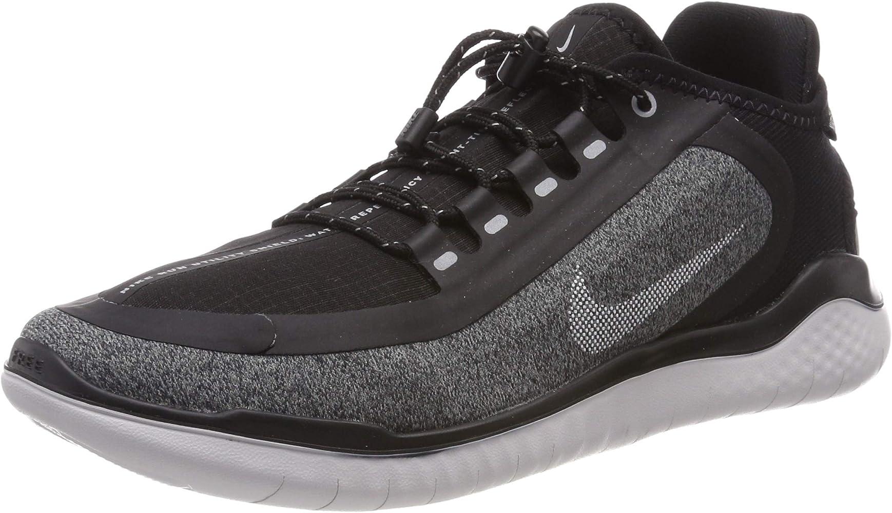 Free RN 2018 Shield Running Shoe Black